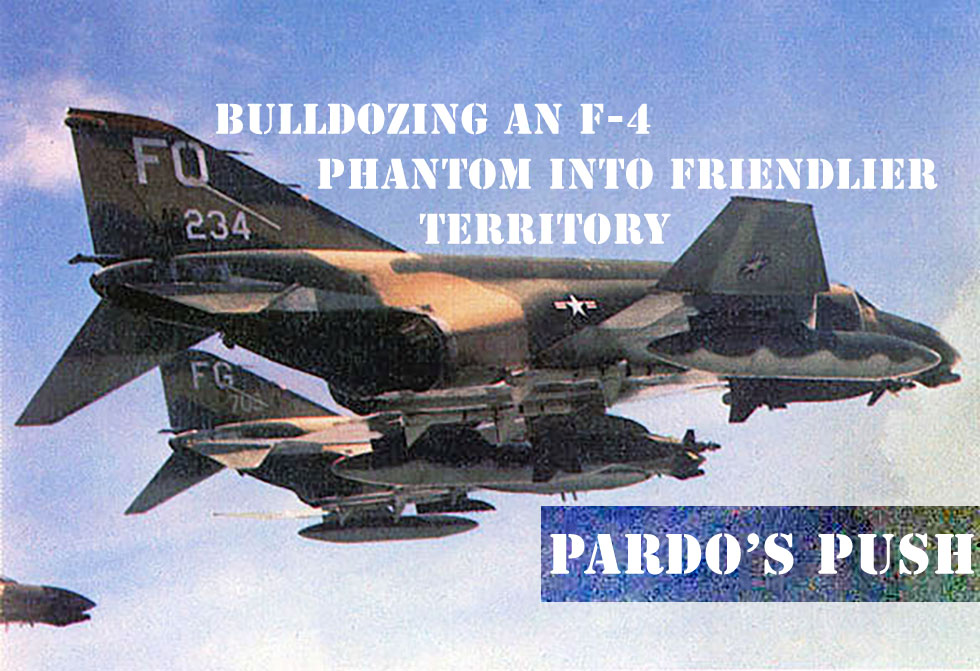 Jet Friday – Bulldozing an F-4 Phantom into Friendlier Territory
