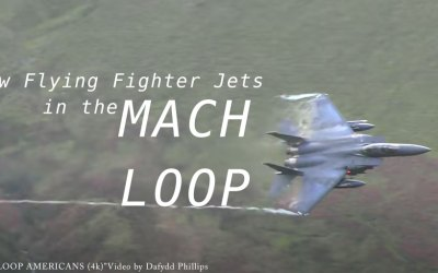 Jet Friday – Low Flying Fighter Jets in the Mach Loop