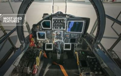 """What Does That Button Do?"" A Fighter Pilot Identifies F-15 Cockpit Controls"