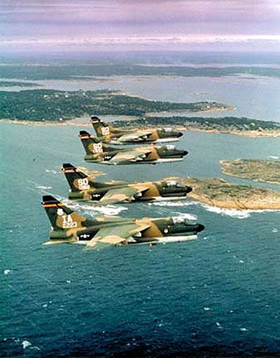 USAF USN USMC The SLUF A-7 Corsair II