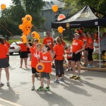 Runners at 9th Annual Run 4 Home Fundraiser where $115,000 in donations were raised.