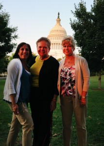 From Left: Beth Epstein-Rosenthal, DuPage Pads Vice President, Programs; Carol Simler, DuPage Pads President and CEO; Janelle Barcelona, DuPage Pads Vice President, Development.