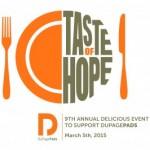 Taste of Hope 2015