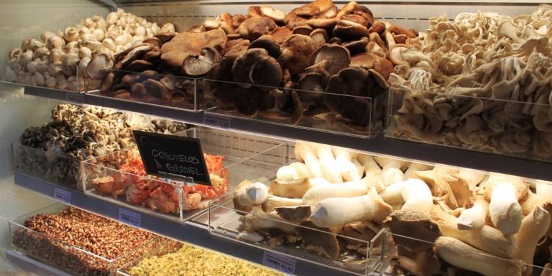 Diversos tipos de cogumelos frescos - R$: 49,90 á R$: 79,90