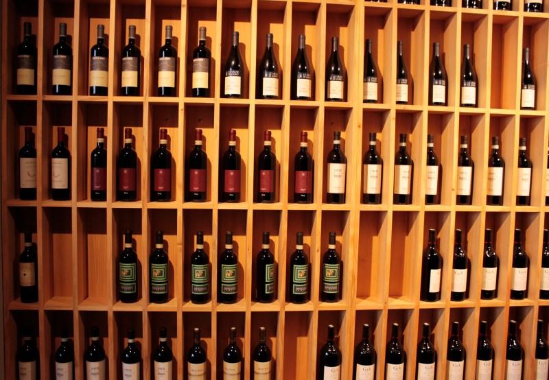 Infinitos modelos de vinhos
