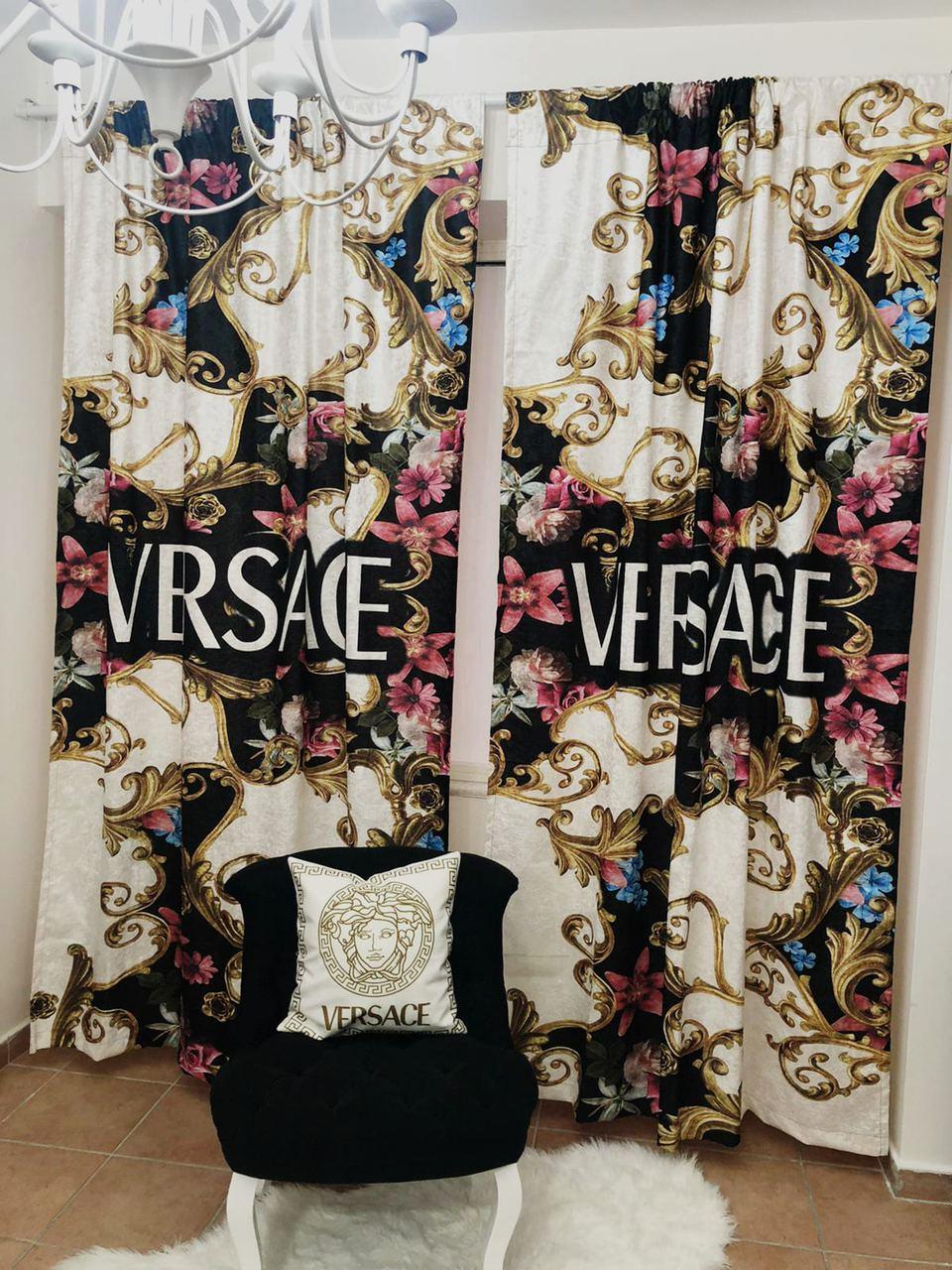 royalty versace curtain