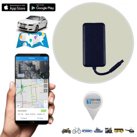 DUPNO Standard 3G Tracker Mini Anti-Theft Vehicle GPS Tracker