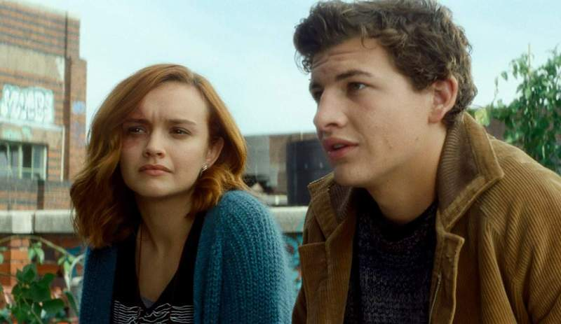 Olivia Cooke and Tye Sheridan in Ready Player One