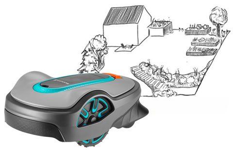 tondeuse robot gardena sileno life