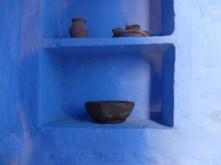 indigo in lime base- india