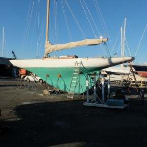 Hope Q Class Wooden boat