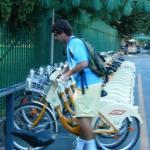 Retrieving your pre-reserved bike