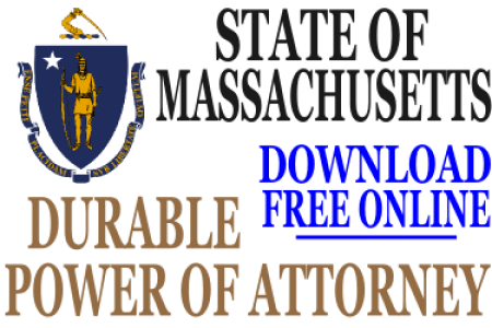 Free Forms 2018 Power Of Attorney Form Ma Free Forms