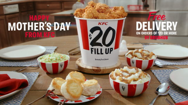 KFC Cooks Up a Messenger From Facebook Experience for Mother's Day