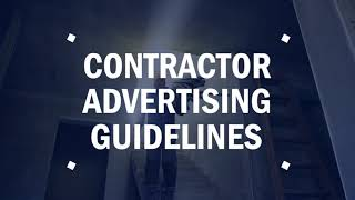 Contractor-Advertising-Guidelines