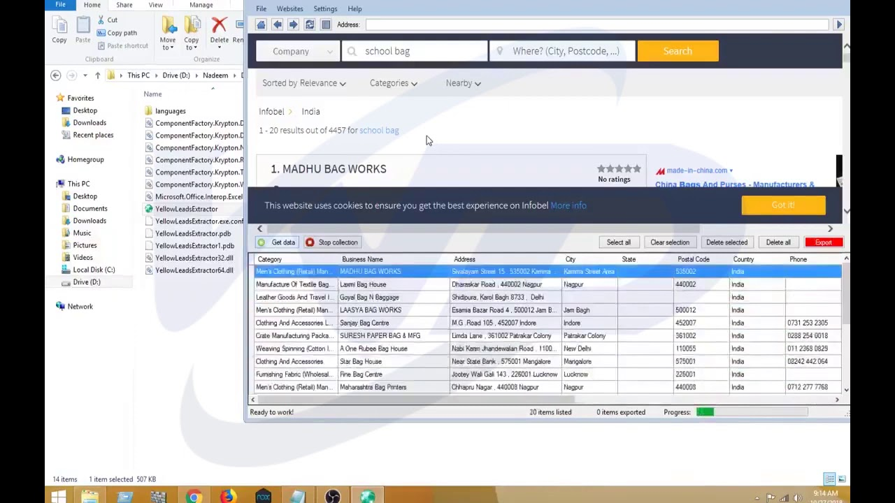 yellow lead extractor how to extract business leads live from web rs lead extractor ultimate - yellow lead extractor - how to extract business leads live from web? rs lead extractor ultimate