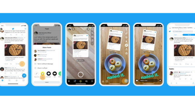 twitter rolls out new way to share tweets to snapchat - Twitter Rolls Out New Way to Share Tweets to Snapchat