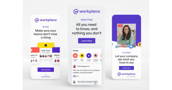 workplace from facebook refreshes its brand identity 1 - Workplace From Facebook Refreshes Its Brand Identity