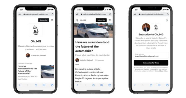 facebook bulletin gets an infusion of new creators 1 - Facebook Bulletin Gets an Infusion of New Creators