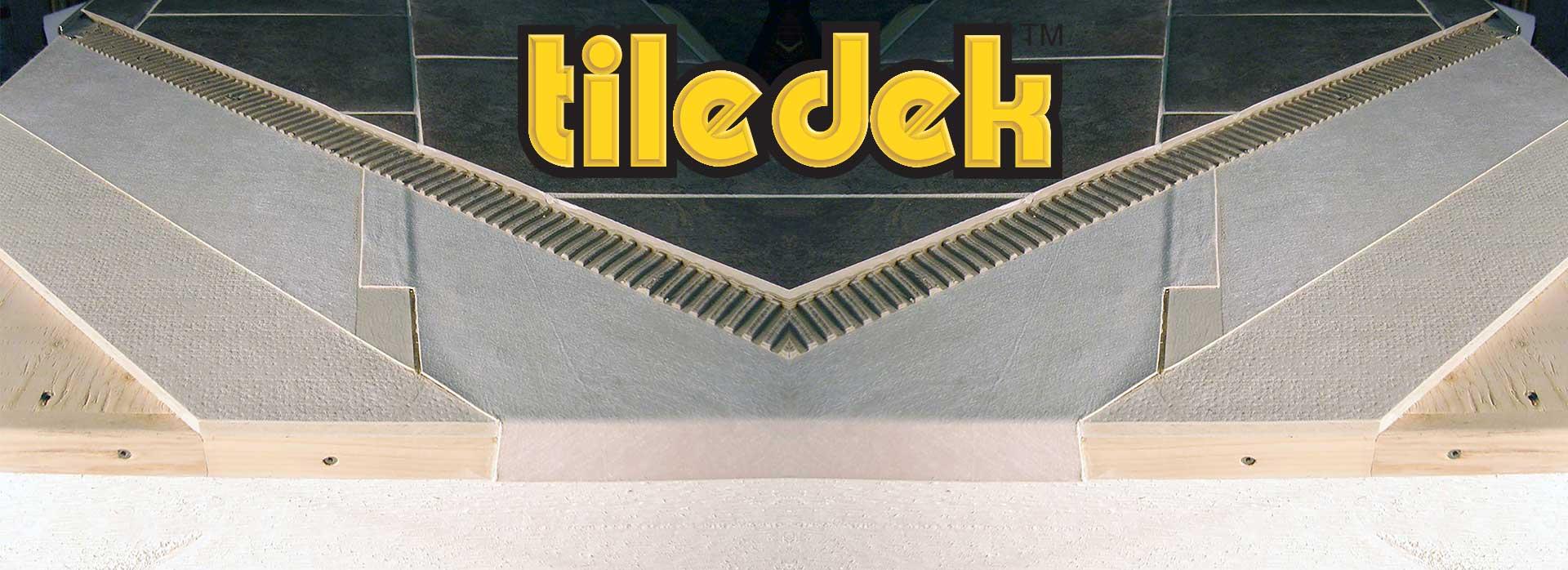 tiledek waterproof tile underlayment
