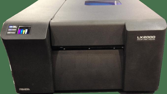 Primera LX2000 GHS label printer