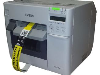 Epson TM-C3500 wristband printer