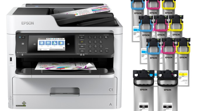 Epson WorkForce Pro WF-C5790 Network Multifunction Colour Printer with Replaceable Ink Pack System