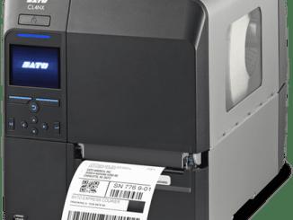 Sato thermal label printer