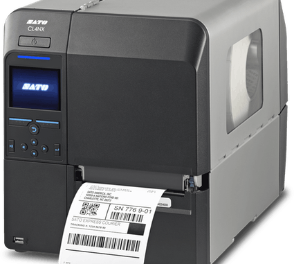 Sato thermal label printer