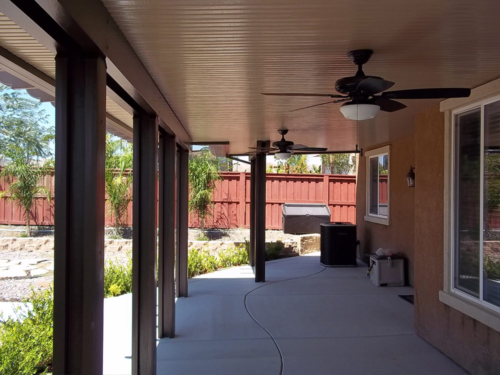 californian solid patio covers