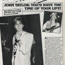 John: If you were my date…