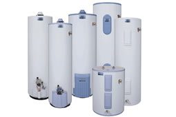 Durance Plumbing services and installs water-heaters
