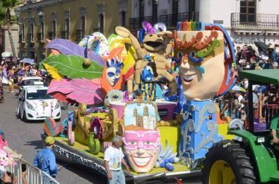 """2do. Lugar: """"Carnaval"""". Secretaría de Educación"""