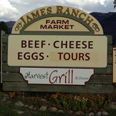 James Ranch: Locally Sourced Food and Restaurant