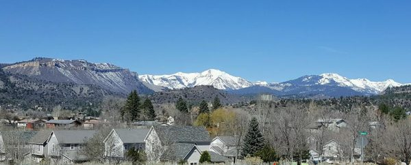 Sun on the Mountains--Blue Sky Day--Happy Spring!!