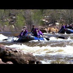 Does Earlier Run-Off Affect Rafting Season?