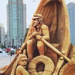 US Sand Sculpting Challenge, Labor Day Weekend, San Diego