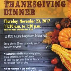 Durango Community Thanksgiving Dinner