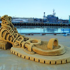 Sand Sculpting Challenge – Labor Day Weekend San Diego, CA