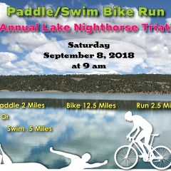 Lake Nighthorse Paddle, Bike, Run