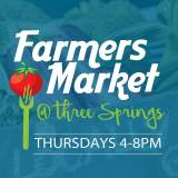 Farmers Market – Three Springs – Thursdays!!