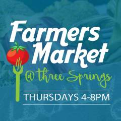 Farmers Market – Three Springs – Thursdays!!