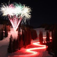 New Year's Eve Fireworks, Torchlight Parade, Rail Jam, and Party – Purgatory