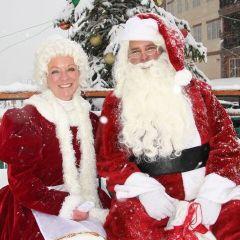 Santa Claus on the Mountain