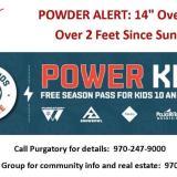 POWDER ALERT – Come enjoy a real winter in Durango!
