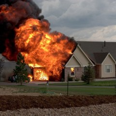 Newer homes and furniture burn faster