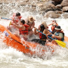 Big adventure in Durango – the ANIMAS RIVER is running high