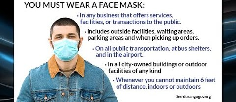 City Issues Mask Mandate thru June 19