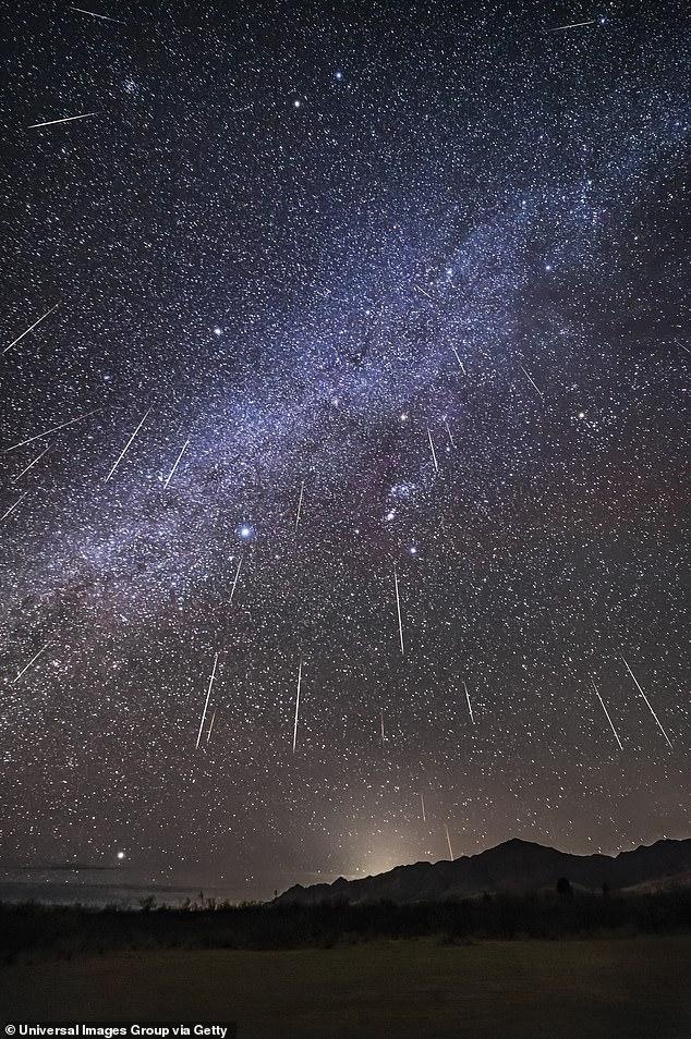 Annual Geminid meteor shower - Durango Downtown