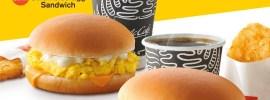 Scrambled Egg Sandwich breakfast terbaharu di McDonald's
